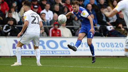 Gwion Edwards took his goal tally for the season to three in the 3-2 win at Swansea prior to the int