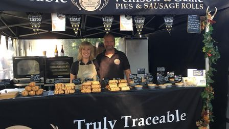 Lynn and Steve at Aldeburgh Food and Drink Festival 2018 Picture: Truly Traceable
