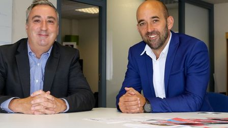 Neil Hodson CEO of Aston Barclay and Tom Marley CEO of The Car Buying Group