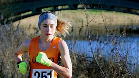 Laura Thomas, who was third lady at the Great Eastern Half-Marathon in Peterborough last weekend. Pi