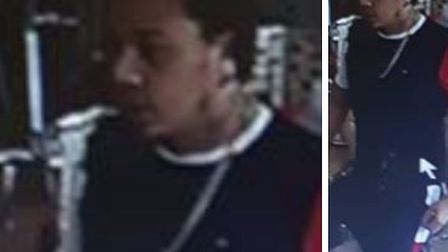 Police want to speak to this man after an aggravated burglary in Dovercourt Picture: ESSEX POLICE
