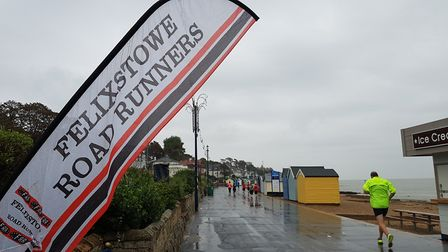 Felixstowe Road Runners decided to name the race after local resident Dr Richard Bennett Picture: RA
