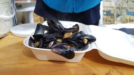 Mussels on offer at ShuckFest Picture: RACHEL EDGE