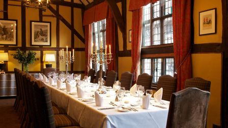 The popular wine tasting dinners are returning to The Swan at Lavenham Picture: NICK SMITH PHOTOGRAP