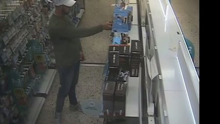 The theft took place at Boots in Sudbury on Friday, August 31 Picture: SUFFOLK CONSTABULARY