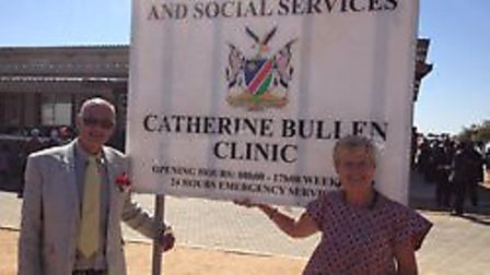 Linda Bullen MBE and Roger Bullen have used their foundationt to fund several projects in Namibia Pi