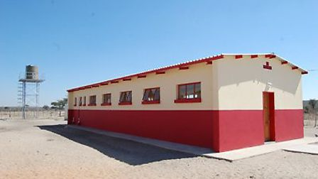 The dormitory Roger and Linda's foundation funded Picture: CATHERINE BULLEN FOUNDATION