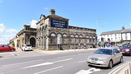 Station Square in Lowestoft. Picture: James Bass