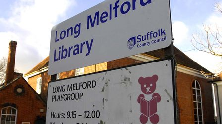 Long Melford could be open for an additional six hours per week under new proposals Picture: TUDOR M
