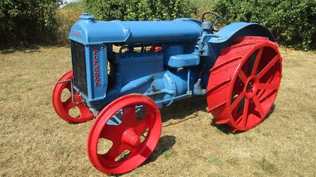 Auctioneer Peter Crichton is holding a retirement sale for Tony Fuller, a keen collector of Fordson