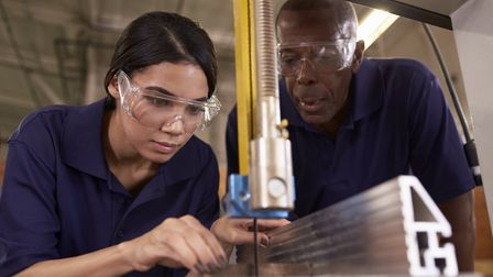 Apprenticeships in Suffolk have dropped by 20%, according to county council data Picture: GETTY IMAG
