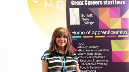 Suffolk New College business development manager Nadia Cenci said work had been done to help clarify