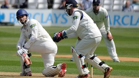 James Foster, a good wicket keeper and a fine batsman, as can be seen here. He retires from Essex th