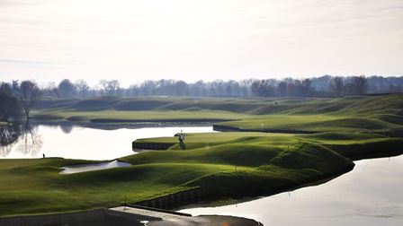 Ryder Cup course at Le Golf National. Picture: Ransomes Jacobsen