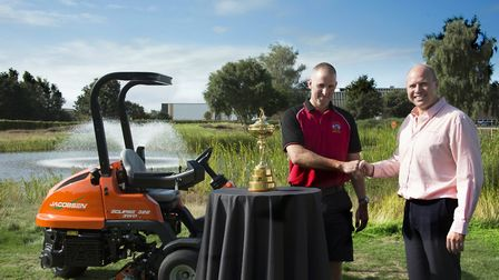 Ipswich manufacturer Ransomes Jacobsen has a key role in the Ryder Cup, as Europe prepares to take o