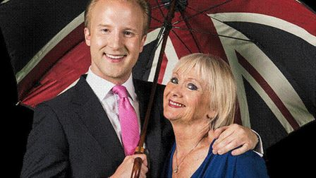 William Hanson and Diana Mather who will be bringing their Etiquette Show to Sudbury. Picture: WILLI