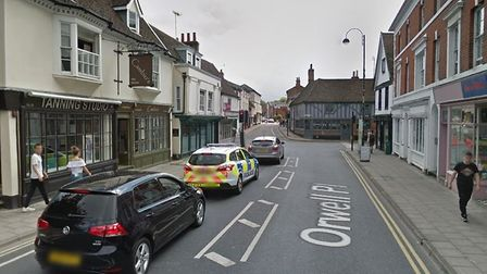 The incident happened on Orwell Place in Ipswich, after the boys pursued the victim towards the town