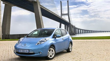 The Nissan LEAF is one of the new breed of all-electric cars. Picture: NISSAN
