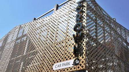 The new Crown Car Park in Ipswich opened in July. Picture: IPSWICH BOROUGH COUNCIL
