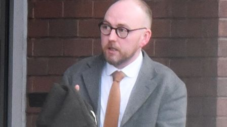 Scott Doughty leaving Suffolk Magistrates' Court Picture: ARCHANT