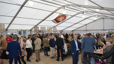 A previous annual beer festival at Newmarket Racecouse. The 2018 Festival is the fifth.