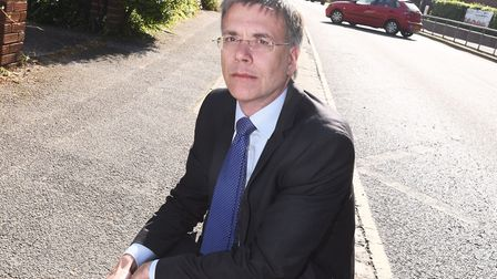 Cllr Paul West also spoke out about the St Giles Trust report Picture: GREGG BROWN