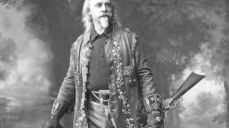 A man of substance: Buffalo Bill in 1910. Picture: US Library of Congress