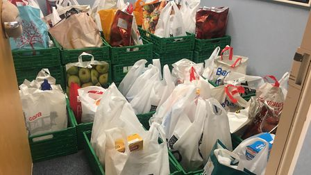 More than 5,000 food parcels are distributed around Ipswich by FIND every year. Credit: GENESIS PR
