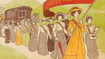 The festival is celebrating 100 years since women were granted the vote in the UK Picture: THEA MCPH