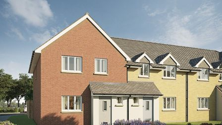 New three-bedroom homes in Leiston have an asking price of £245,000, available from Hamilton Smith.