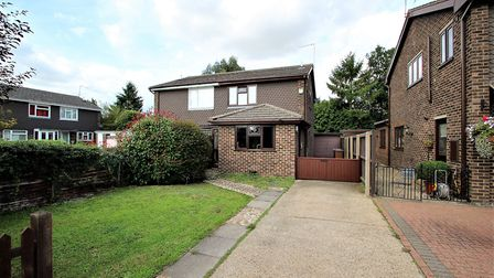 This house in Starfield Close, Ipswich, is available for £245,000 from Marks & Mann. Picture: MARKS