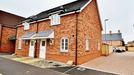 This house in Eagle Drive, Colchester, is available for £259,995 from Elms Price & Co. Picture: ELMS