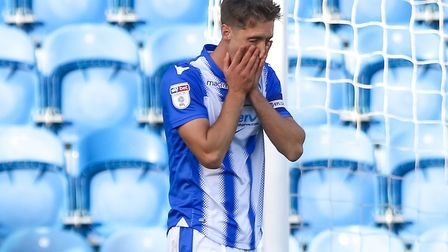 Luke Prosser, who was unlucky to give away a penalty during the win over Crawley. Picture: STEVE WAL