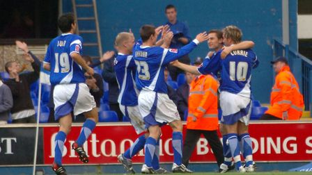 Nicky Forster came off the bench to score as the Blues beat Crewe in 2005