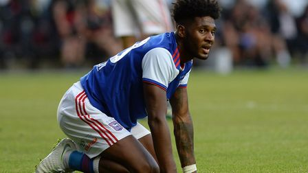 Ellis Harrison is out for two months with an ankle injury. Picture Pagepix