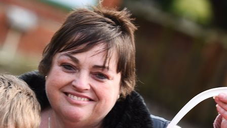 Wendy Goddard, mother of Zoe who died of cervical cancer Picture: GREGG BROWN