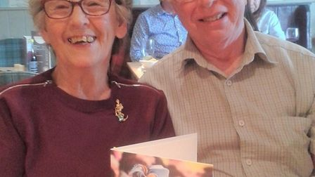 Ron and Olga Keveren have recently celebrated their diamond wedding anniversary Picture: SUPPLIED BY