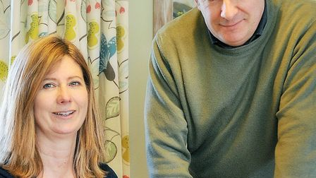 Rosemary Cattee and Richard Somerville of Rosemary Cattee Interior Design