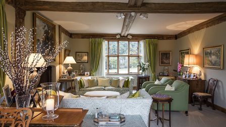 House decorated by Rosemary Cattee Interior Designs. Picture: Andrew Hendry
