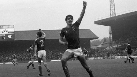 Mich D'Avray scored as the Blues beat Liverpool on this day in 1982