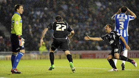 Also on this day in 2012, Daryl Murphy scored in the 1-1 draw with Brighton