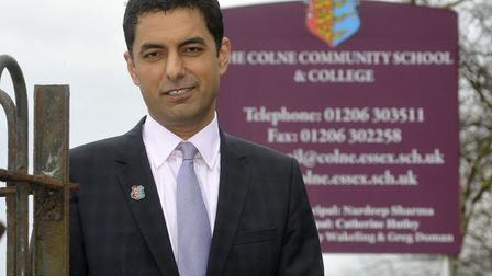 Nardeep Sharma has left his role at the Thrive Partnership Academy Trust Picture: ANDREW PARTRIDGE