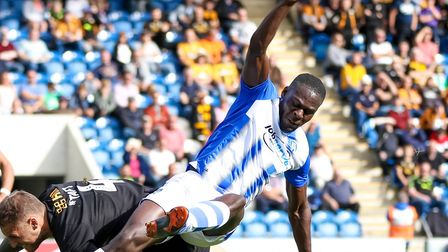 Frank Nouble, who doubled the U's lead with a great finish, just before the hour mark. Picture: STEV