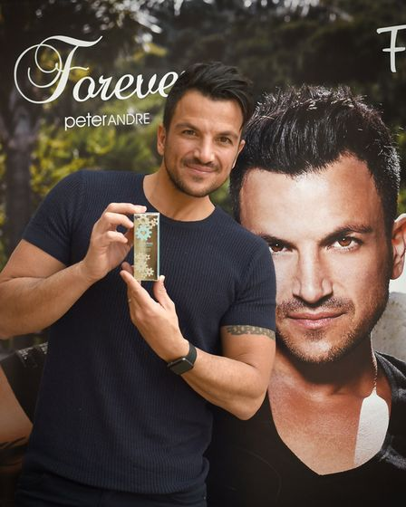 Peter Andre met his fans at the Buttermarket in Ipswich on Saturday April 1 Picture: SARAH LUCY BROW