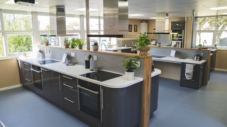 The new community kitchen opened at Haverhill Community Centre Picture: HUBBUB