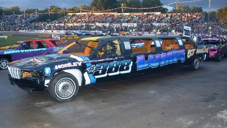 Weird and wonderful cars always appear at the Banger World Final at Foxhall Photo: CONTRIBUTED