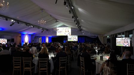 The presentation at the Essex Police Awards. Picture: ESSEX POLICE