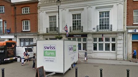 The former Natwest in Stowmarket. Picture: GOOGLE MAPS