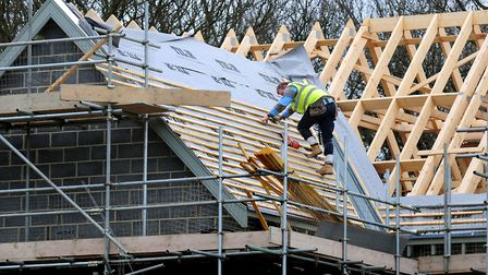 Generic image of builders working. Picture: Rui Vieira/PA Wire