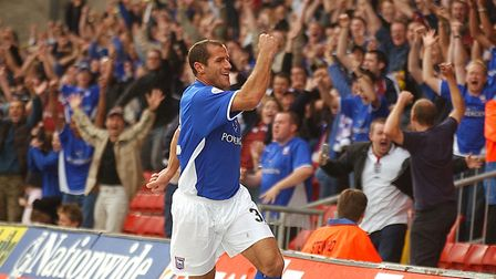 Shefki Kuqi scored on his Ipswich Town debut against Watford on this day in 2003